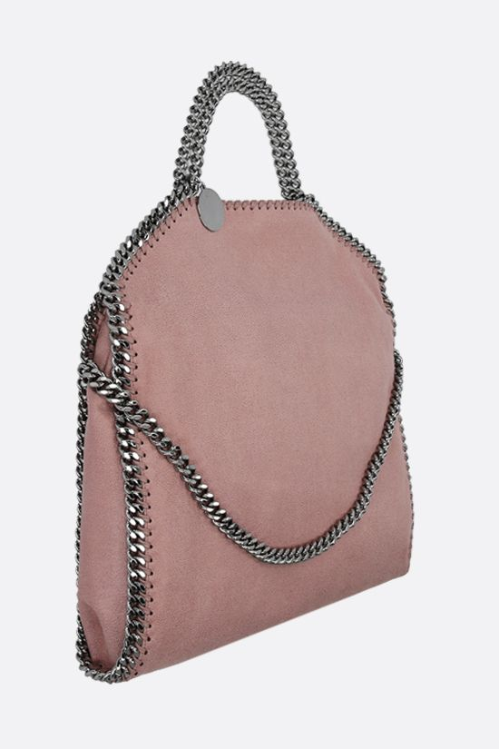 STELLA McCARTNEY: borsa tote Falabella Fold Over in Shaggy Deer Colore Pink_2