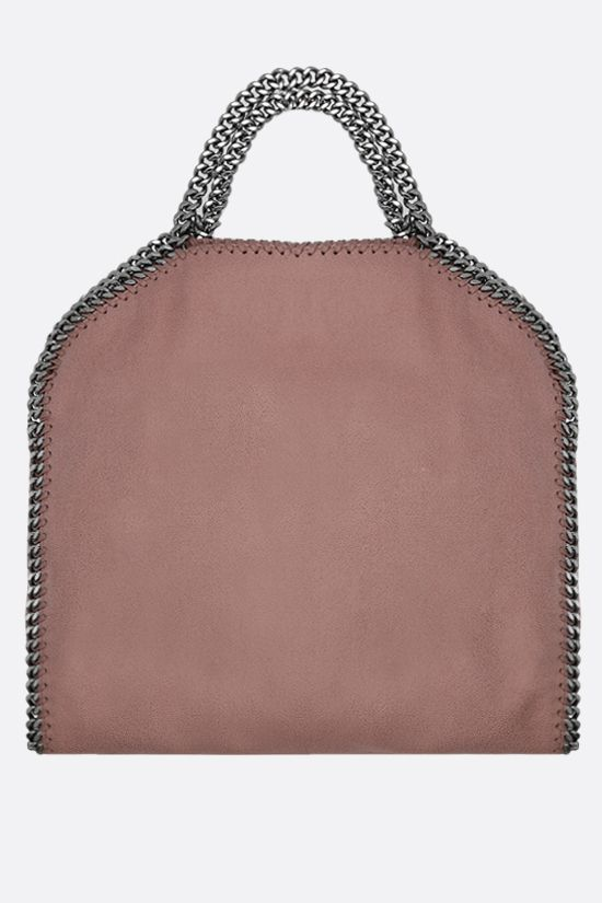 STELLA McCARTNEY: borsa tote Falabella Fold Over in Shaggy Deer Colore Pink_3