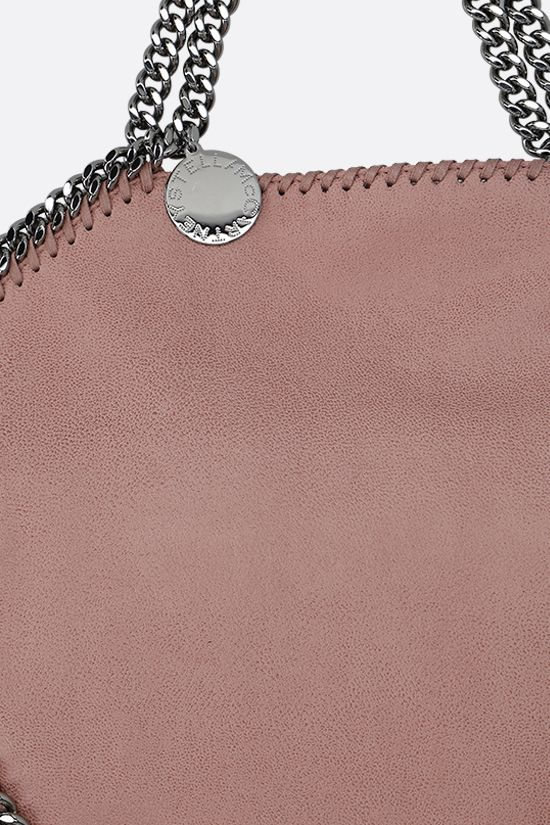 STELLA McCARTNEY: borsa tote Falabella Fold Over in Shaggy Deer Colore Pink_4