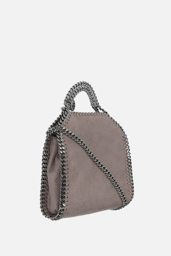 STELLA McCARTNEY: Falabella tiny tote in Shaggy Deer Color Grey_2