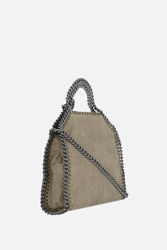 STELLA McCARTNEY: Falabella tiny tote in Shaggy Deer Color Brown_2