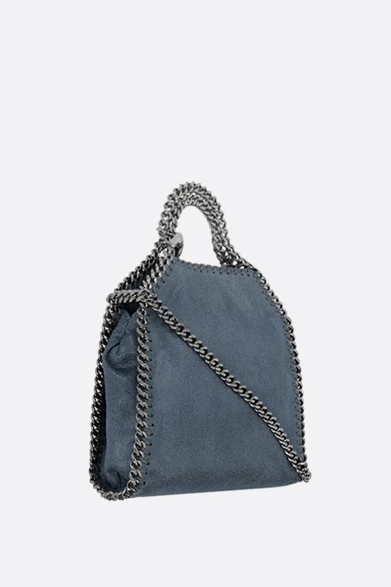 STELLA McCARTNEY: Falabella tiny tote in Shaggy Deer Color Blue_2