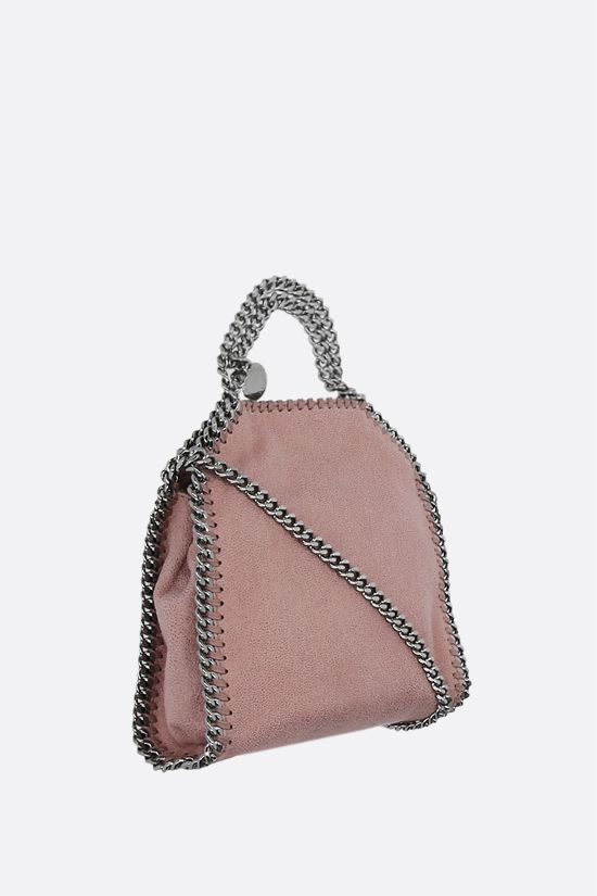 STELLA McCARTNEY: Falabella tiny tote in Shaggy Deer Color Pink_2