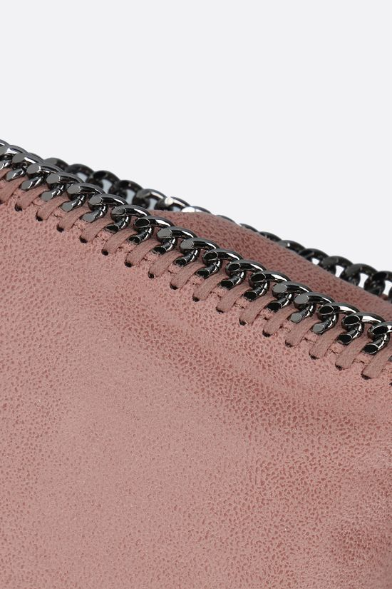STELLA McCARTNEY: borsa tote Falabella tiny in Shaggy Deer Colore Pink_4