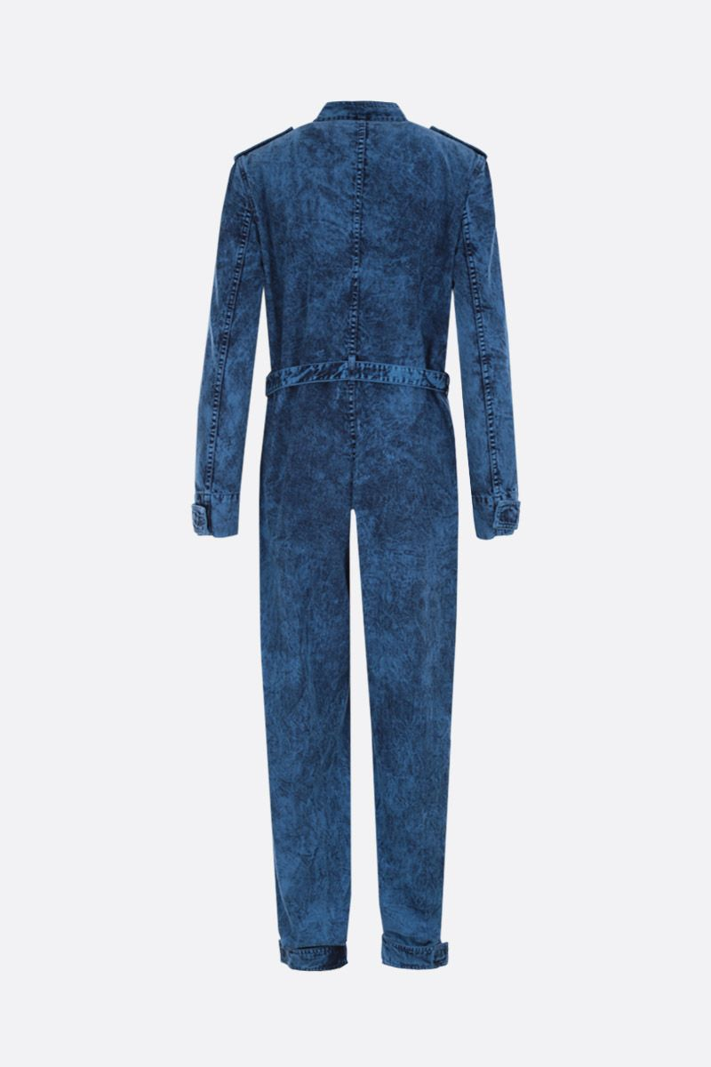 STELLA McCARTNEY: cotton jumpsuit Color Blue_2