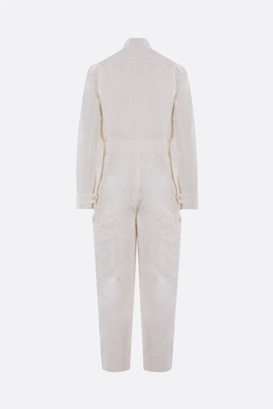 STELLA McCARTNEY: Alessia compact cotton jumpsuit Color Neutral_2