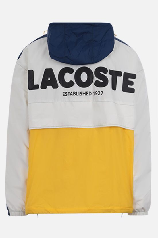 LACOSTE L!VE: logo patch colour-block nylon windbreaker Color Multicolor_2