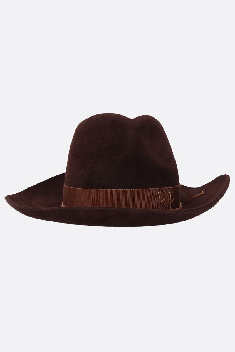 RUSLAN BAGINSKIY: felt cowboy hat Color Brown_1