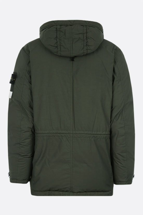 STONE ISLAND: Naslan Light Watro fabric padded parka Color Green_2