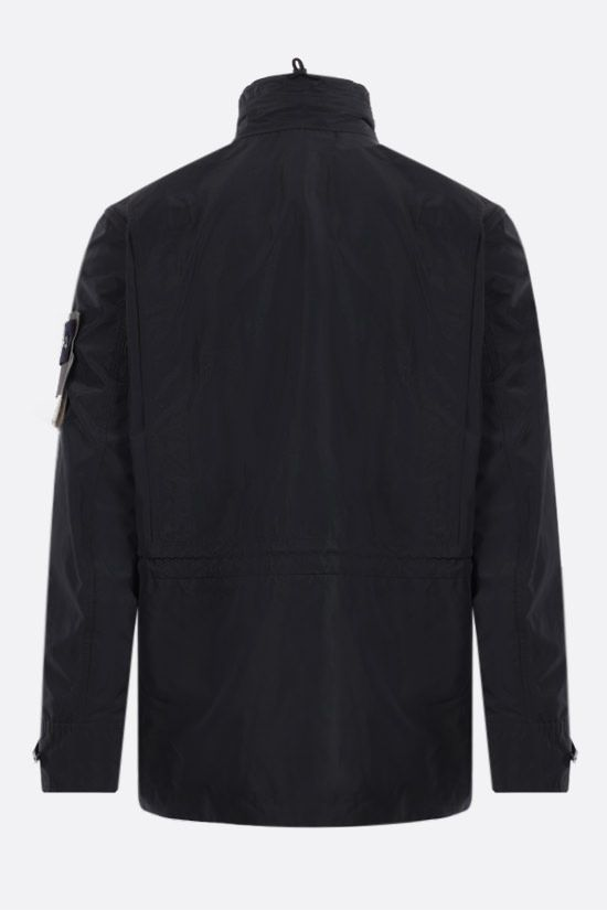 STONE ISLAND: Micro Reps fabric bush jacket Color Black_2