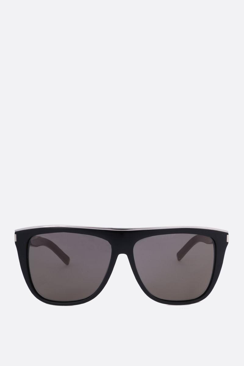 SAINT LAURENT: New Wave SL 1 Combi sunglasses Color Black_1