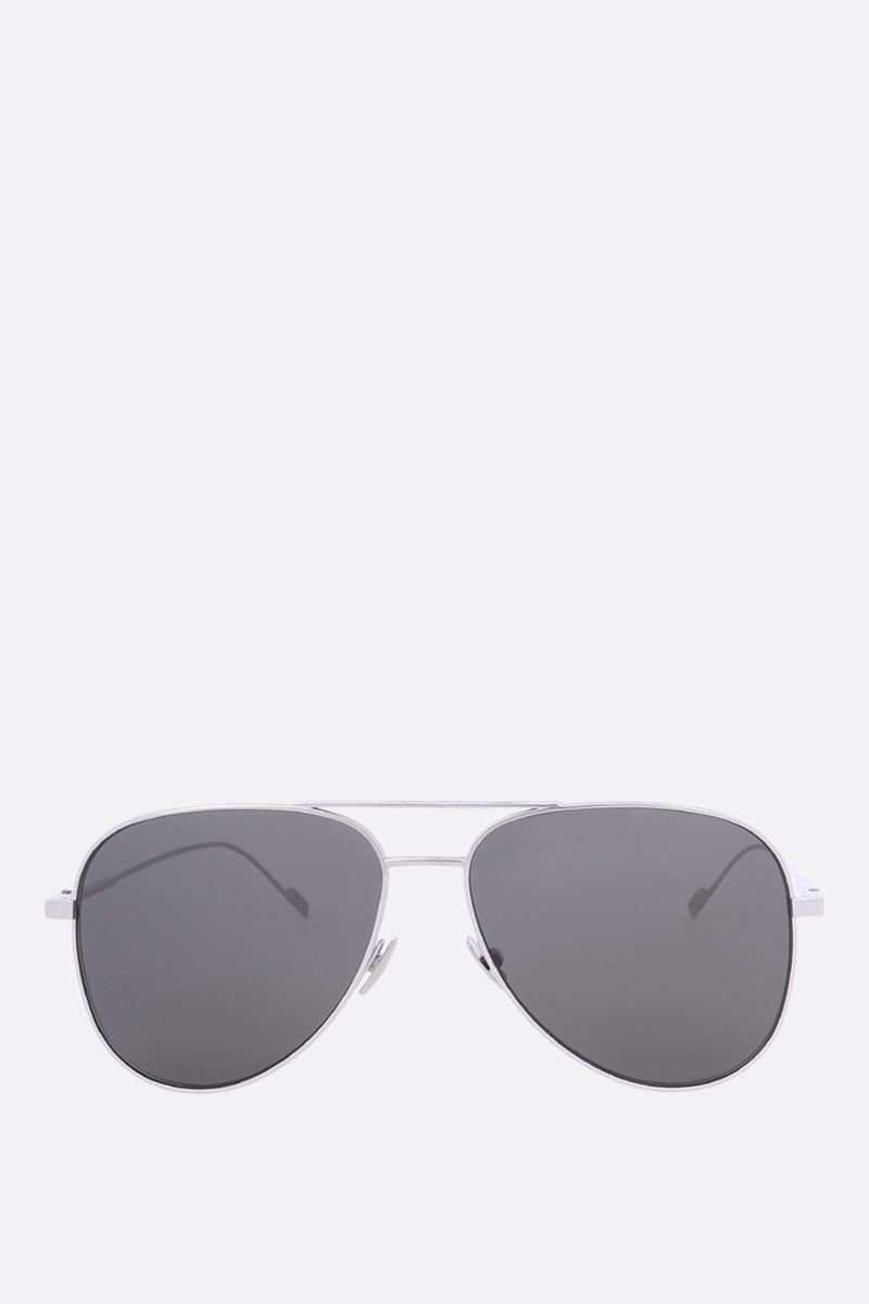 SAINT LAURENT: SL 193 aviator sunglasses Color Grey_1