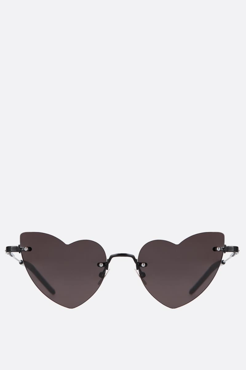 SAINT LAURENT: New Wave Loulou 254 sunglasses Color Black_1