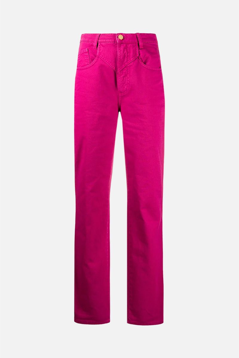 ALBERTA FERRETTI: jeans regular-fit Colore Rosa_1