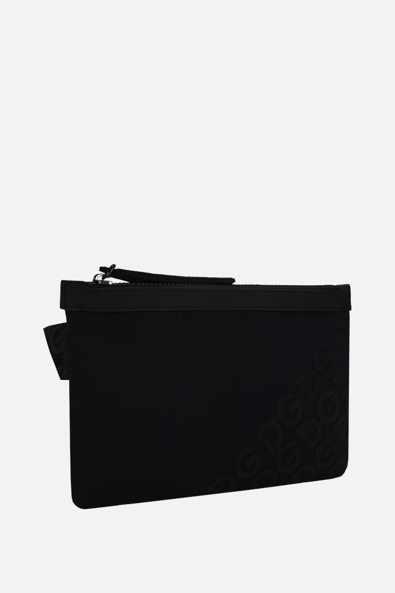 DOLCE & GABBANA: DG Mania belt bag in neoprene Color Black_2