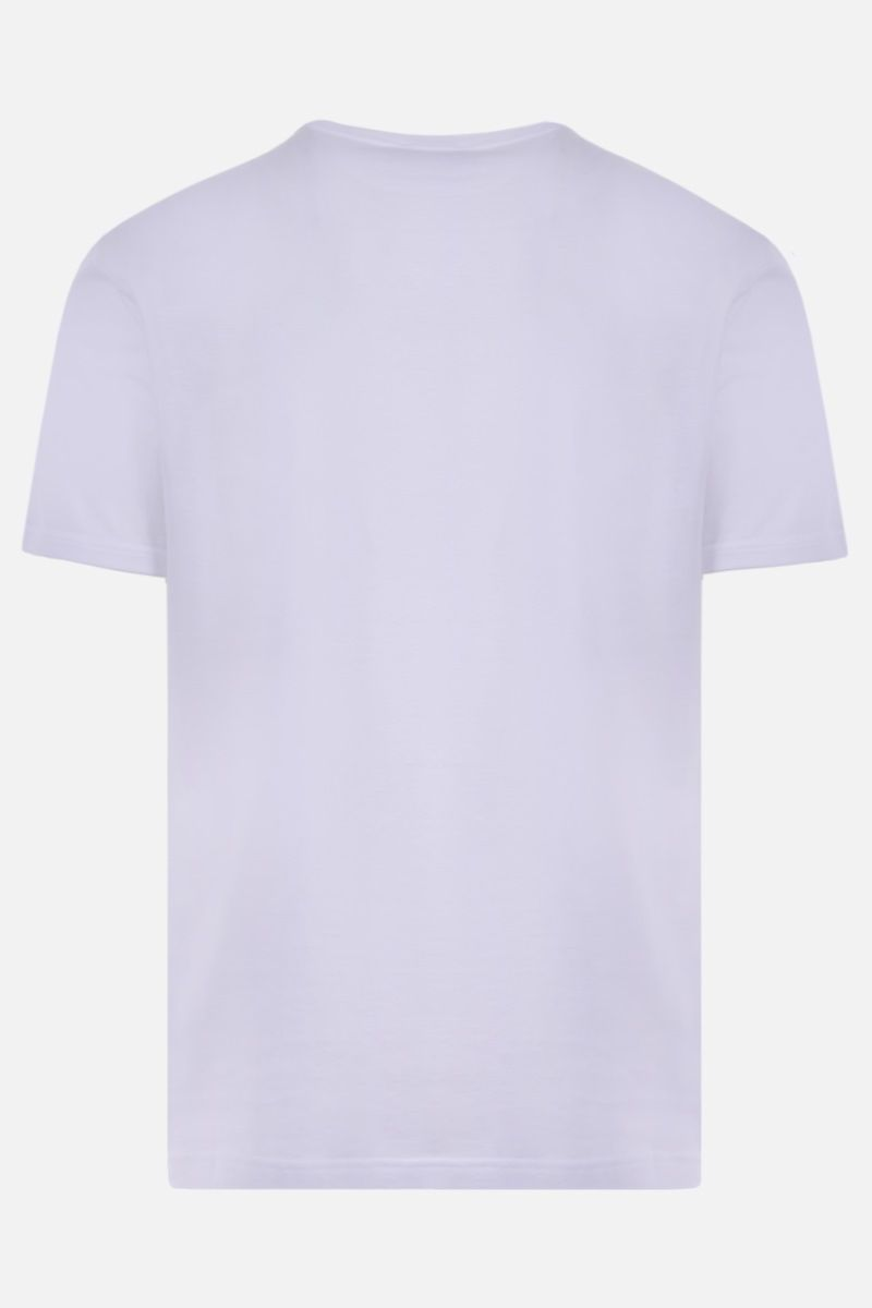 DOLCE & GABBANA: DG patch cotton t-shirt Color White_2