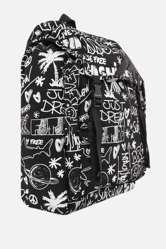 GOLDEN GOOSE DELUXE BRAND: Journey nylon backpack Color Black_2