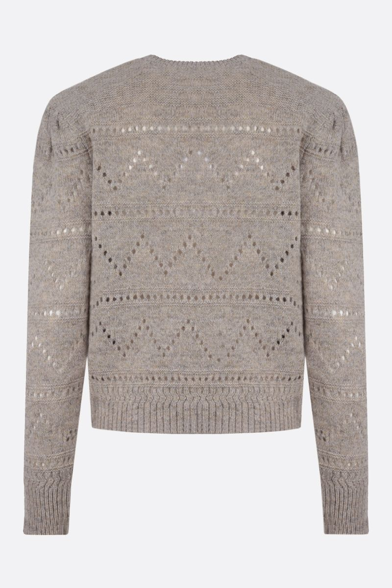 ISABEL MARANT ETOILE: Norma wool pullover Color Neutral_2
