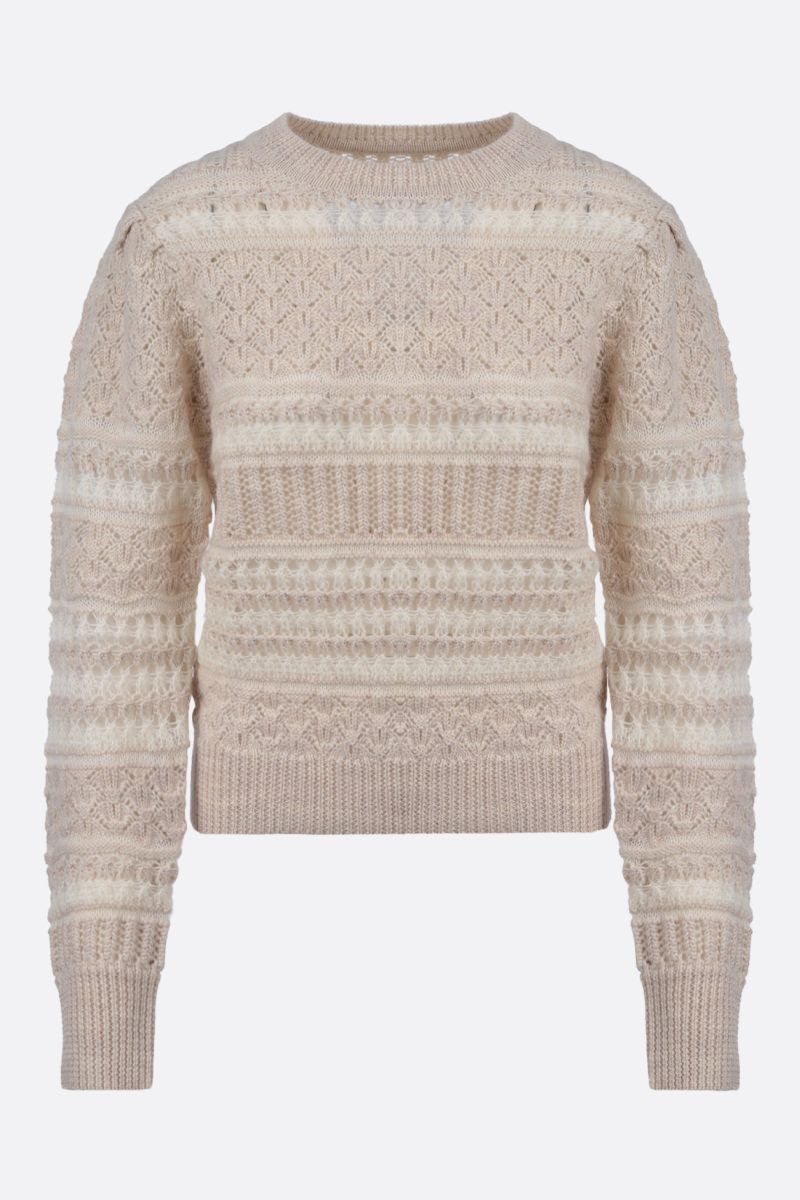 ISABEL MARANT ETOILE: Pippa wool blend pullover Color Neutral_2