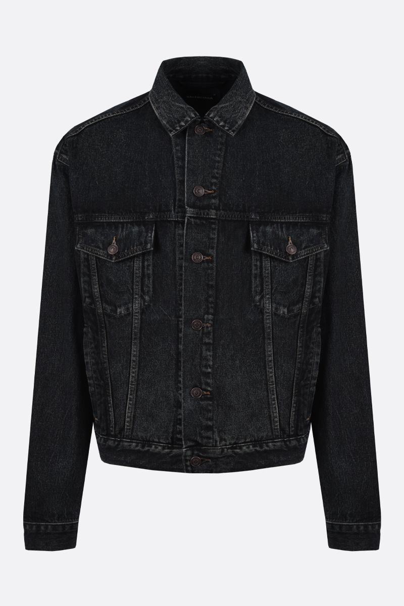 BALENCIAGA: Balenciaga oversized denim jacket_1