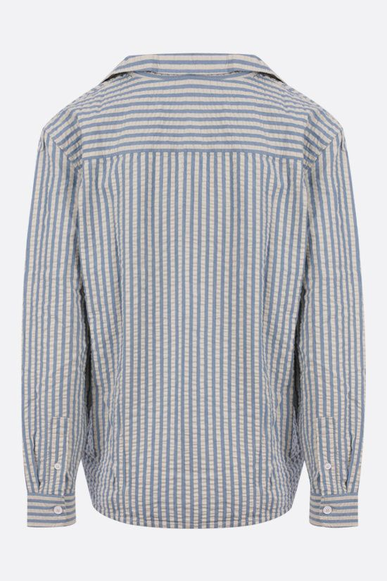 LEVI'S MADE & CRAFTED: striped cotton camp shirt Color Multicolor_2
