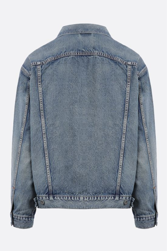 LEVI'S MADE & CRAFTED: giubbotto oversize in denim Colore Multicolore_2