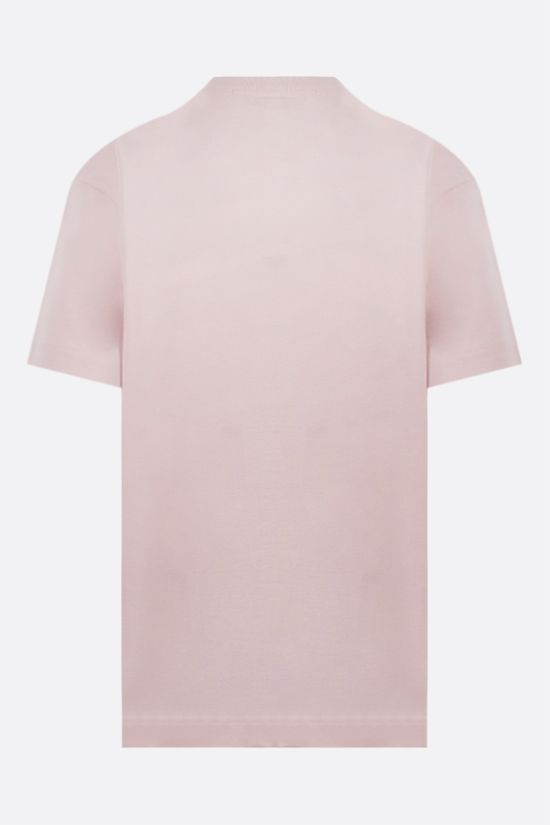 ALEXANDER WANG: Cake print oversize cotton t-shirt Color Pink_2