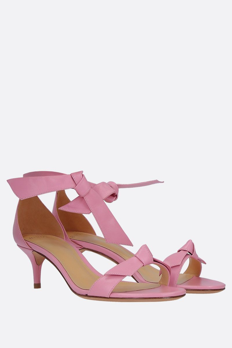ALEXANDRE BIRMAN: Clarita sandals in nappa leather Color Pink_2