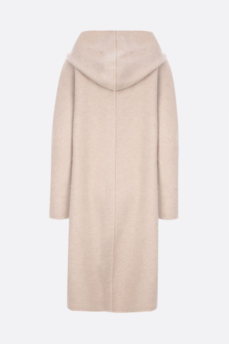 MAX MARA ATELIER: Sierra double-breasted cashmere coat Color Neutral_2