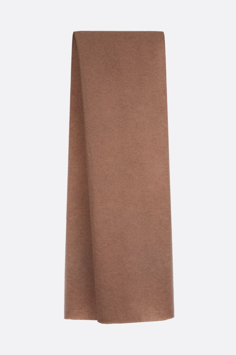 ROBERTO COLLINA: pure cashmere scarf Color Neutral_2