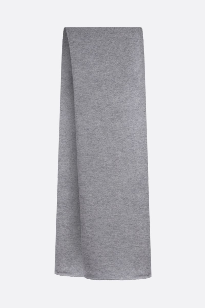 ROBERTO COLLINA: pure cashmere scarf Color Grey_2