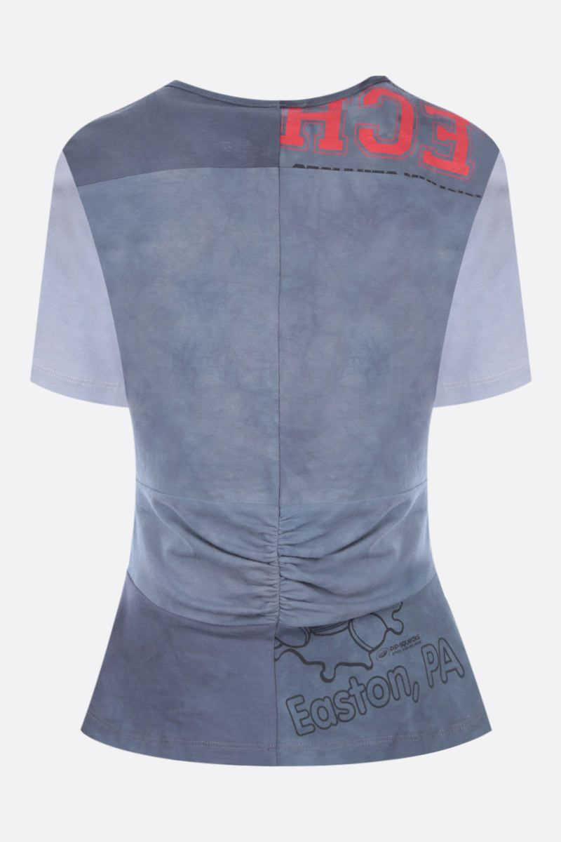 COLLINA STRADA: t-shirt Gina in cotone upcycled Colore Grey_2