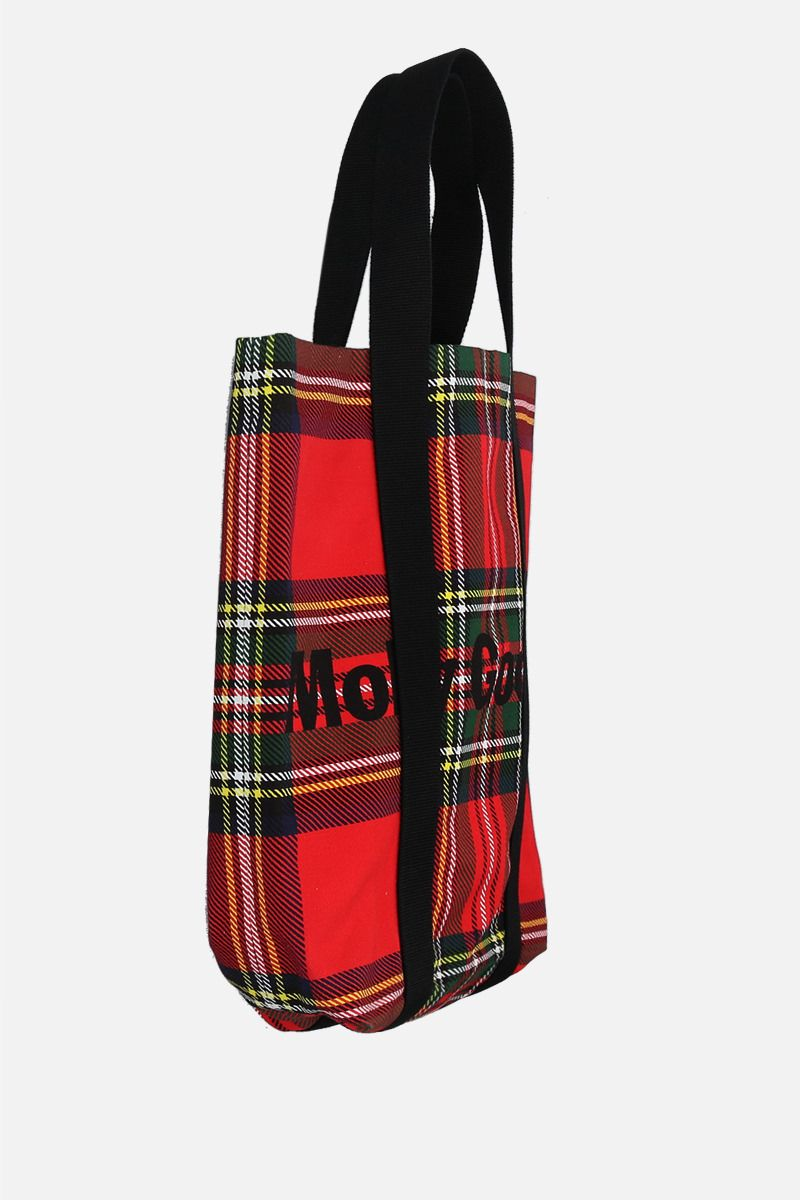 MOLLY GODDARD: Cameron large canvas tote bag Color Red_2