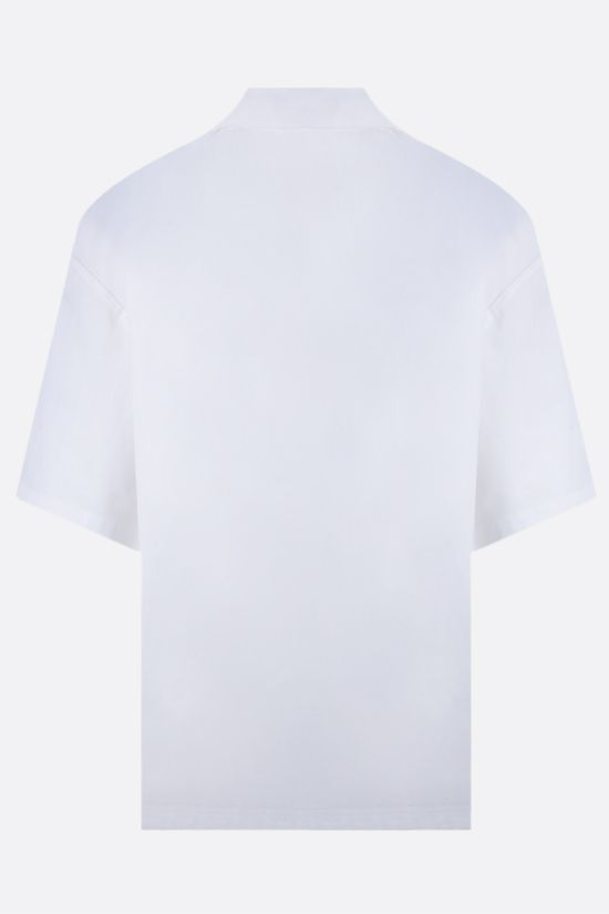 PALM ANGELS: Palms Boulevard cotton bowling shirt Color White_2
