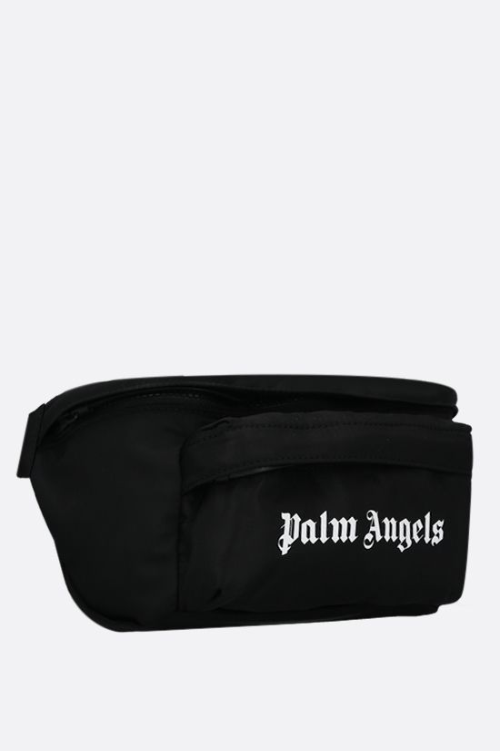 PALM ANGELS: marsupio Essential in nylon Colore Nero_2