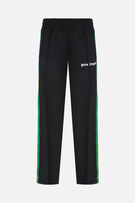 PALM ANGELS: Exodus technical jersey joggers Color Black_1