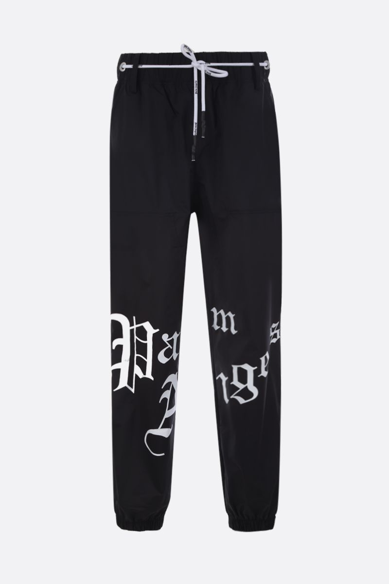 PALM ANGELS: New Gothic nylon joggers Color Multicolor_1