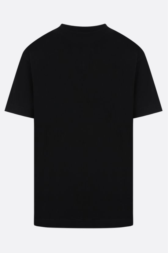 PALM ANGELS: Hue Gothic Logo cotton t-shirt Color Black_2
