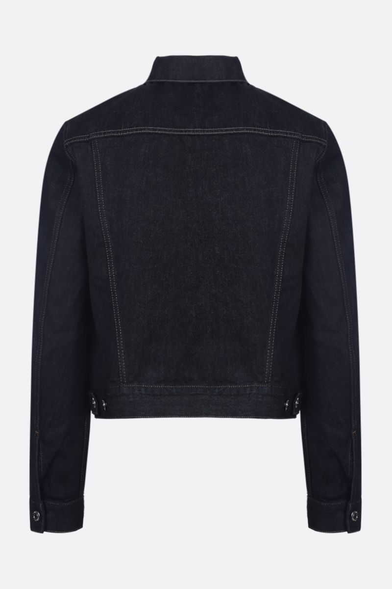 HELMUT LANG: Masc Trucker denim jacket Color Blue_2