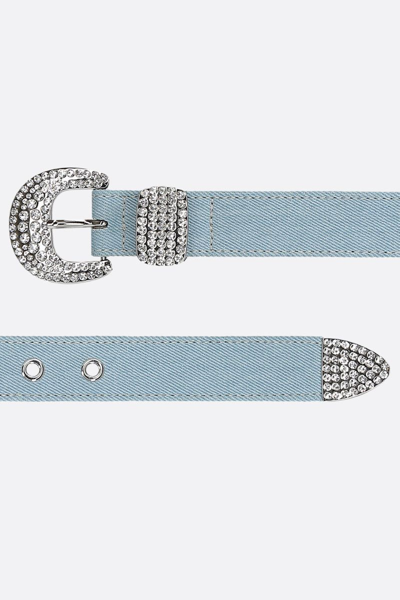 B-LOW THE BELT: Isabella denim belt Color Blue_2