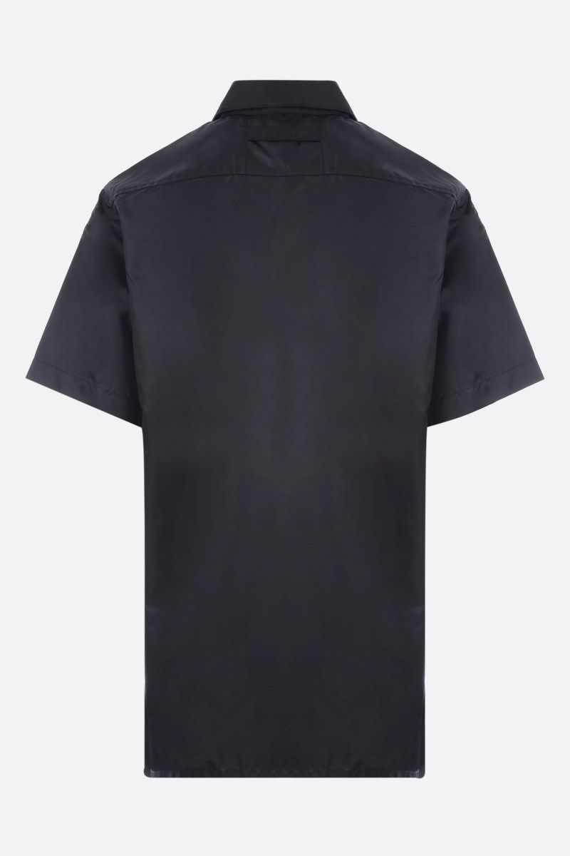 1017 ALYX 9SM: Rollercoaster buckle-detailed nylon short-sleeved shirt Color Black_2