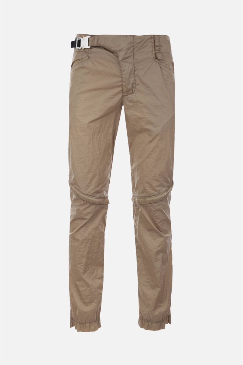 1017 ALYX 9SM: nylon straight-fit pants Color Brown_1