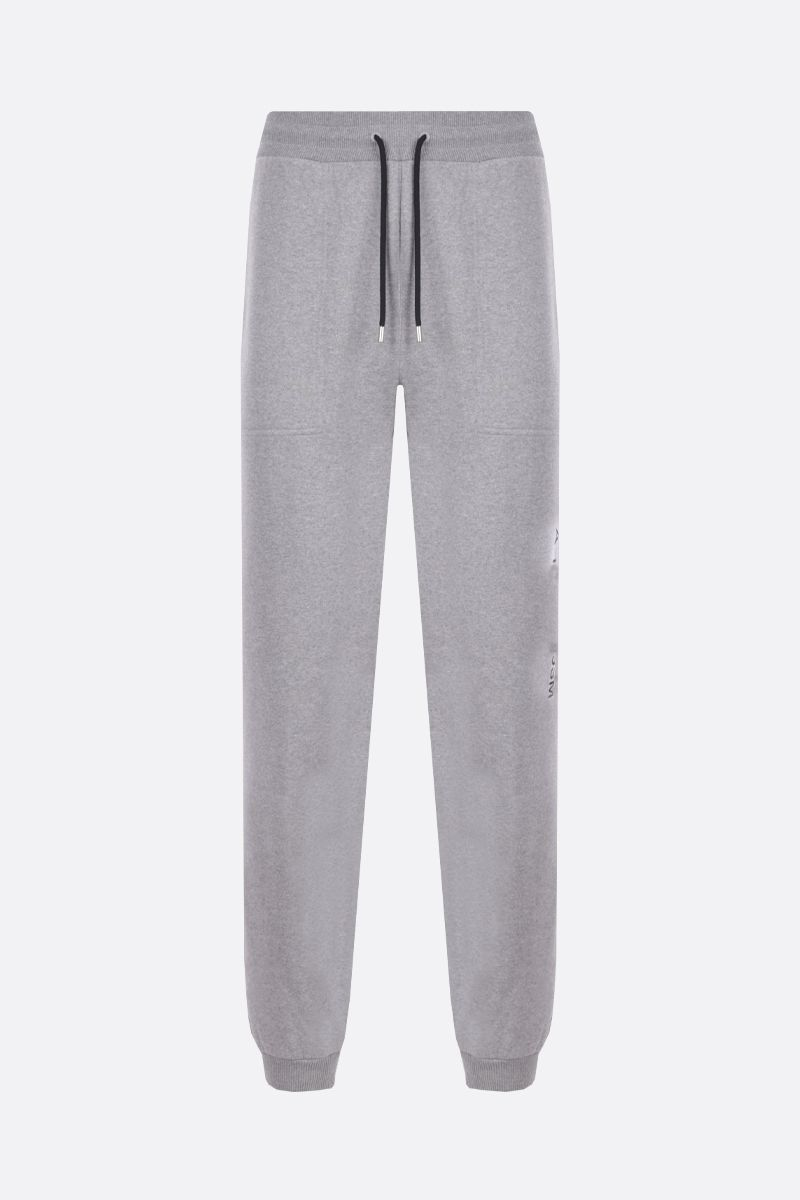 1017 ALYX 9SM: Visual jersey joggers Color Grey_1