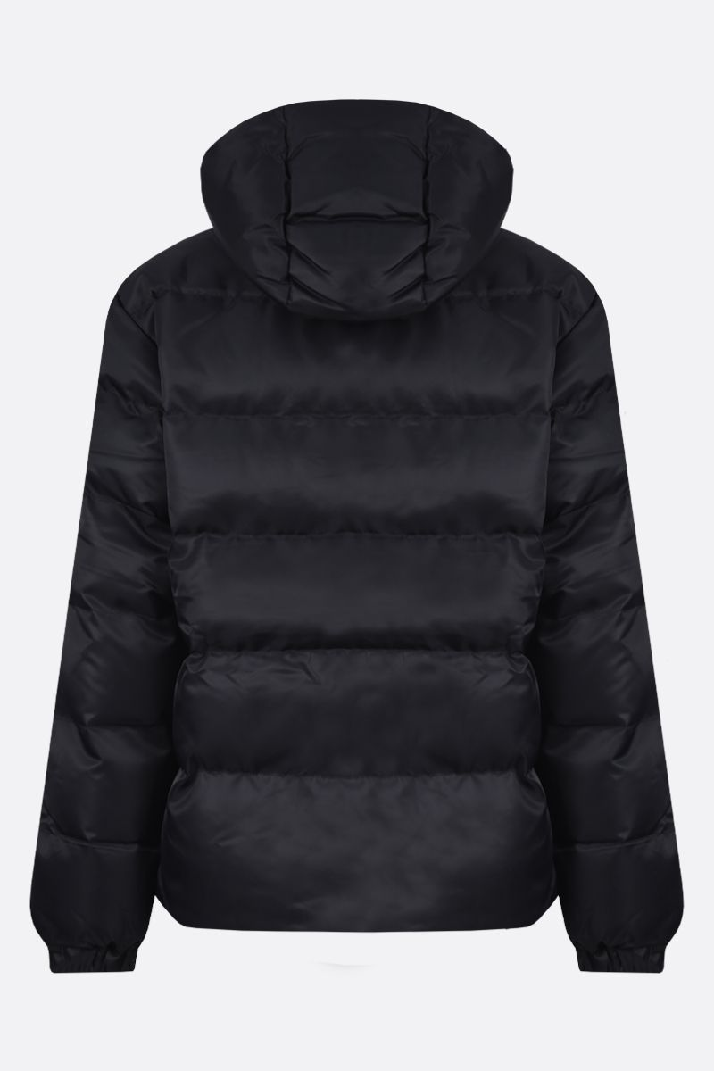 1017 ALYX 9SM: Rollercoaster buckle-detailed nylon padded jacket Color Black_2