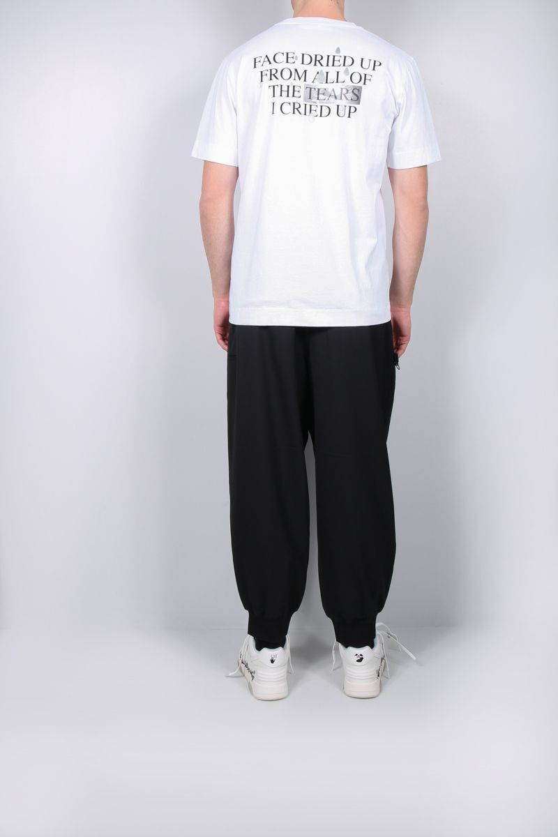1017 ALYX 9SM: Dried Tears cotton t-shirt Color White_2
