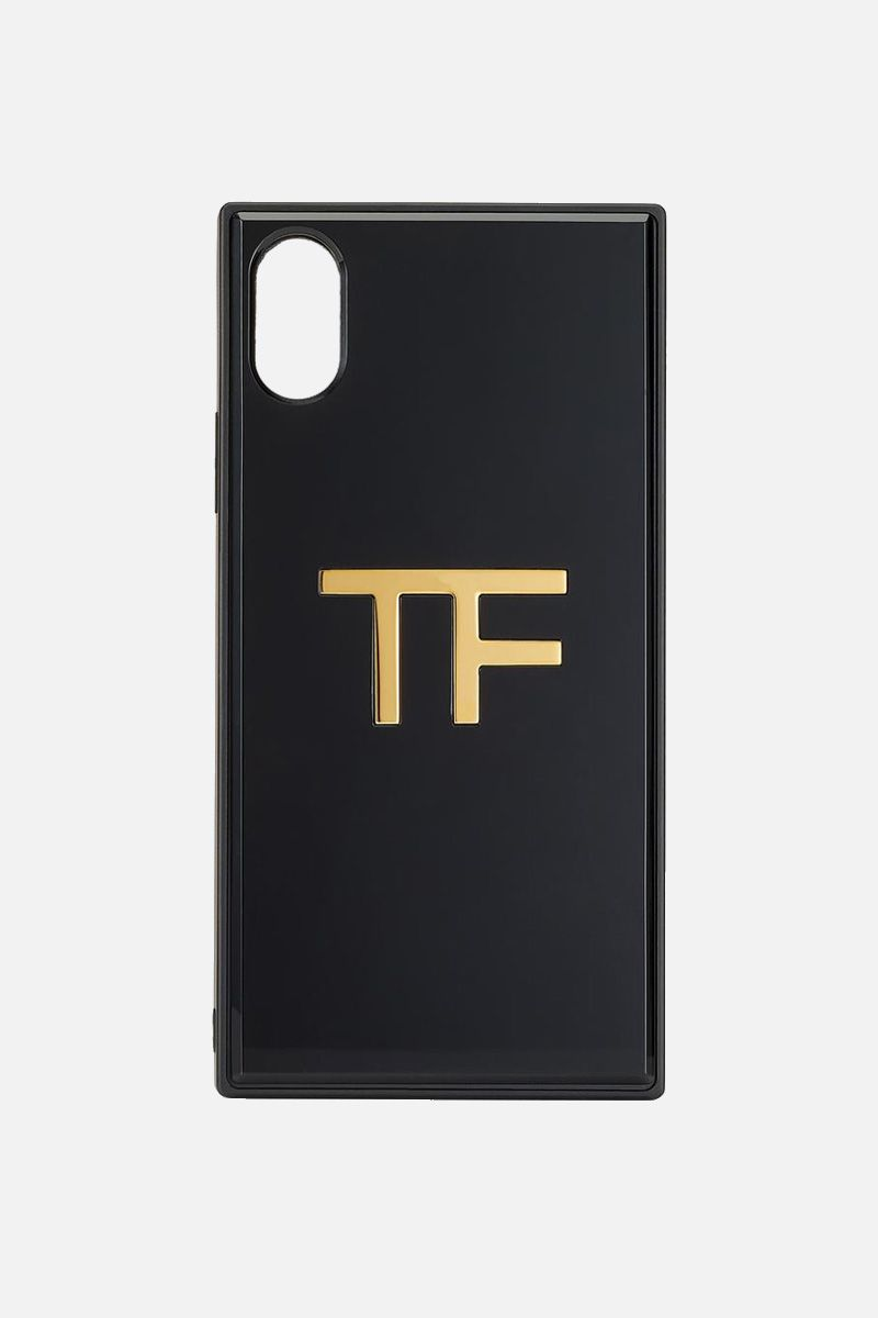 TOM FORD: plexiglass TF IPHONE case Color Black_1