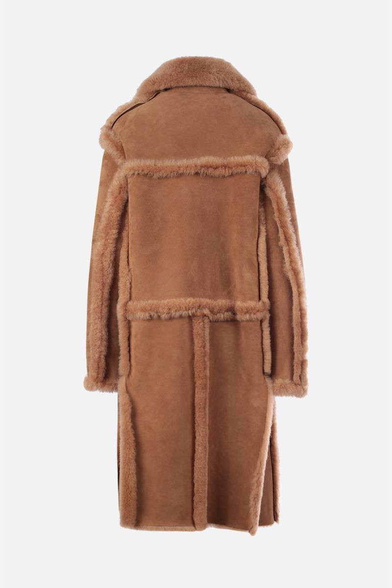 TOM FORD: shearling coat Color Neutral_2