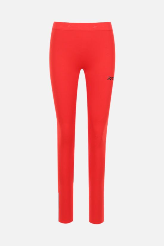 REEBOK X VICTORIA BECKHAM: Reebok Victoria Beckham technical jersey leggings Color Red_1