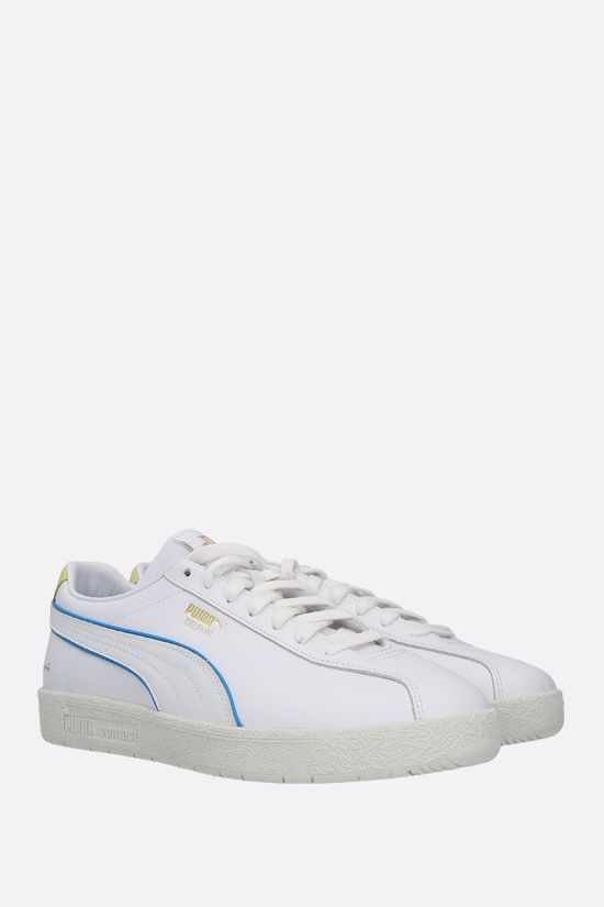 PUMA: Delphin Rudolf Dassler Legacy smooth leather sneakers Color White_2