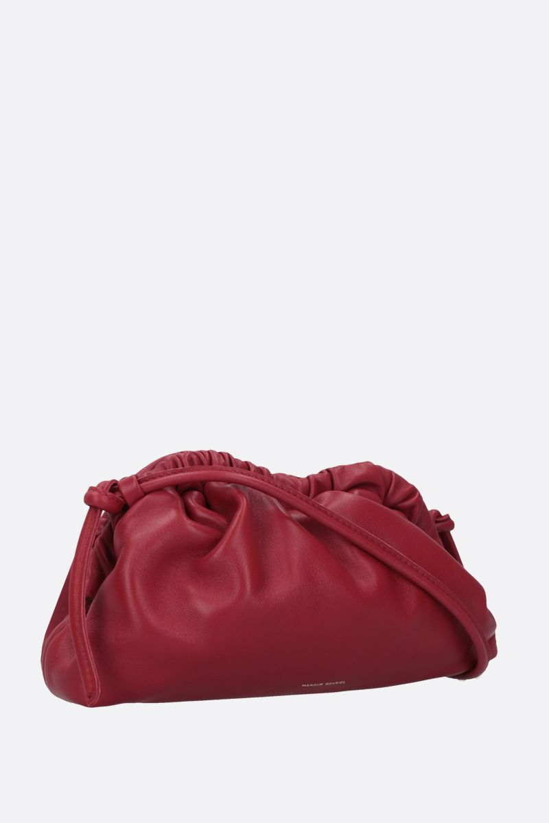 MANSUR GAVRIEL: mini Cloud soft nappa clutch Color Red_2
